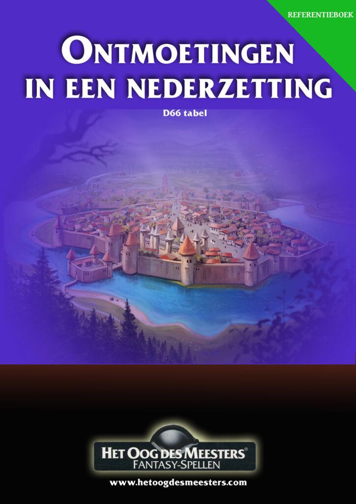 Kaft OdM boek Ontmoetingen in een nederzetting